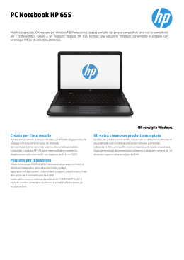 PC Notebook HP 655