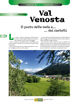 Val Venosta - WordPress.com