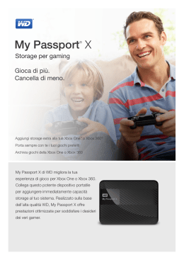 My Passport® X Gaming Storage - Product Overview