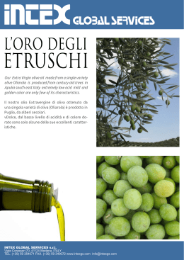 Our Extra Virgin olive oil made from a single variety