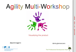 Agility Multi-Workshop - PMI-NIC