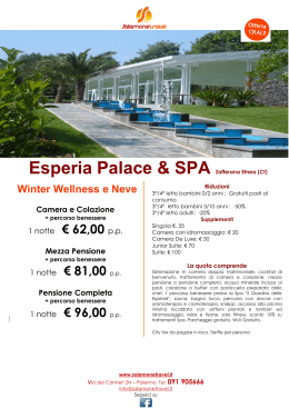 Esperia Palace & SPA Zafferana Etnea (Ct)
