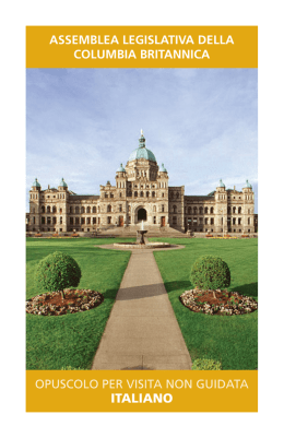 italiano - Legislative Assembly of British Columbia