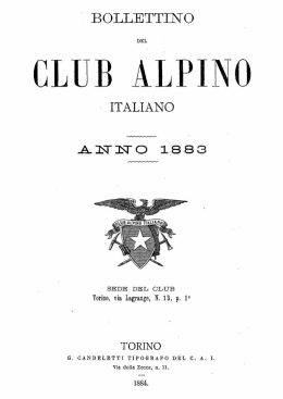club alpino - Rupestre.net