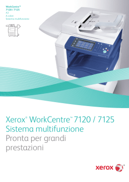 WorkCentre 7120/7125 Brochure