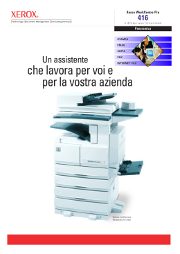 WorkCentre Pro 416 Brochure