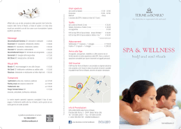 spa & wellness - Terme di Boario
