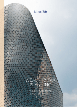 wealth & tax planning