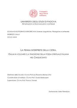Documento PDF - Padua@Research - Università degli Studi di