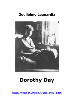 Dorothy Day di Guglielmo La Guardia
