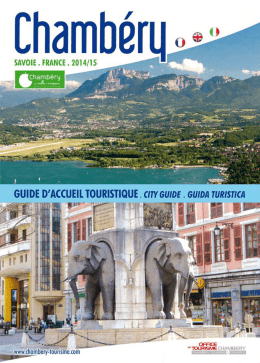 Version PDF - Vie associative Chambéry - Associations