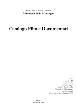 Catalogo Film