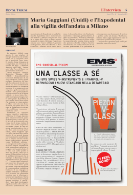 uNa classE a sÉ - Dental Tribune International