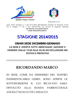 stagione 2014/2015