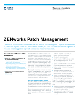 ZENworks Patch Management