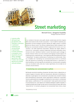 Street marketing - Bancaria Editrice
