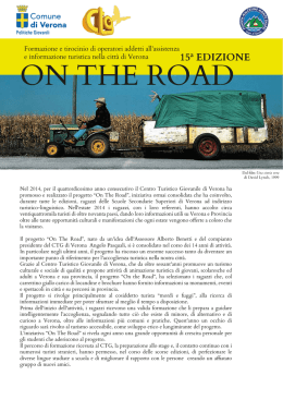 Progetto On The Road 2015