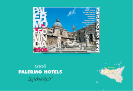 PALERMO HOTELS 2006