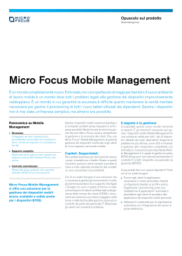 Micro Focus Mobile Management