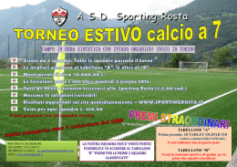 opuscolo TORNEO estate 2015