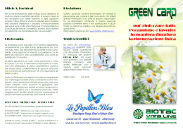 Green Card - le-papillon