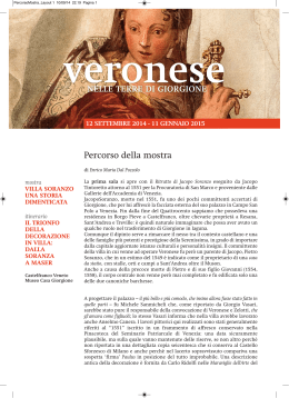 Percorso Mostra (PDF file - 2773 Kb)