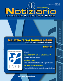 (Volume 25 Numero 9 - Supplemento 1 - 2012) [PDF