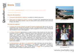 Grecia - Operation World Italia