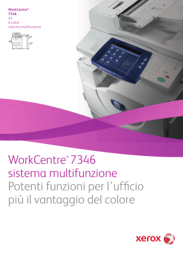 WorkCentre 7328/7335/7345/7346 Product Brochure