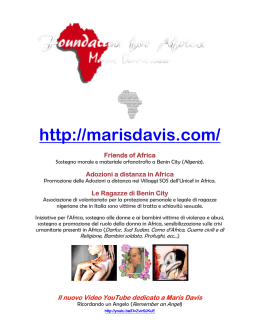 by Maris Davis - Foundation for Africa