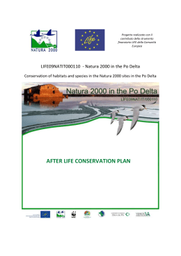 after life conservation plan