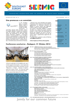 SEEMIG Newsletter no5