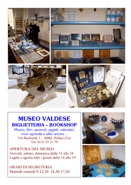 MUSEO VALDESE