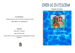"Corsi in piscina ""Acqua Medical Fitness"""