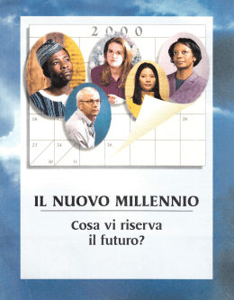 il nuovo millennio - The World News Media