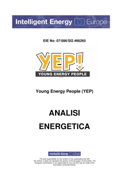 EIE No: 07/086/SI2.466265 Young Energy People (YEP
