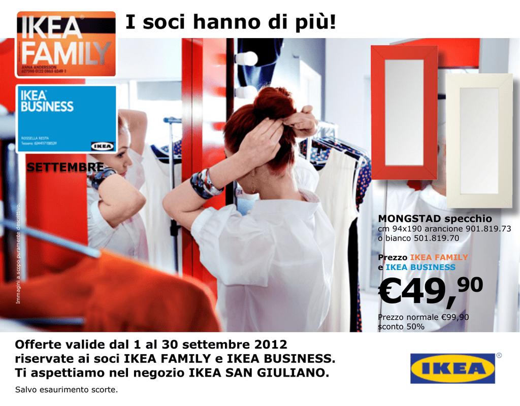 Specchio Adesivo Rotolo Ikea 49,90 - ikea