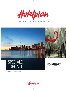 speciale toronto - Travel Operator Book