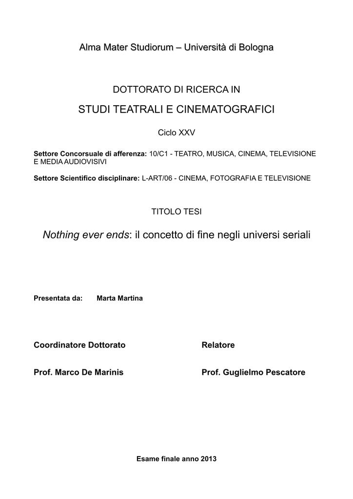 Pdf Di Dottorato Documento Ams Tesi nOkwX80P