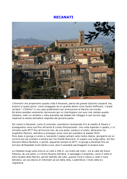 recanati - Euweb.it