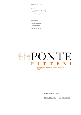 Catalogo con foto in PDF