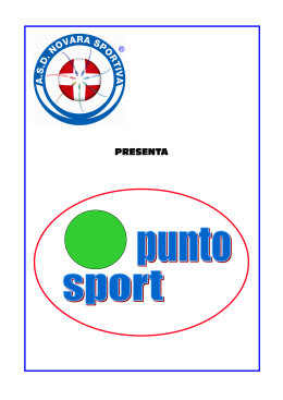 punto sport - teamvolleynovara.it