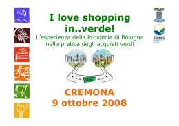 V. Beltrame - I love shopping in.. verde