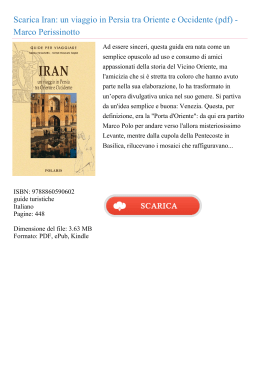 Iran: un viaggio in Persia tra Oriente e Occidente
