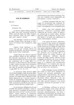 Marianna for Camera deputati indirizzo