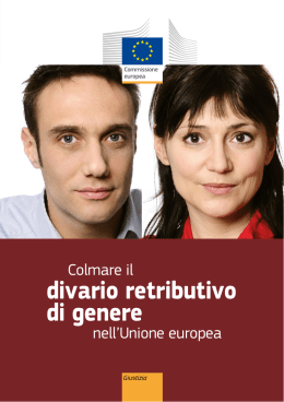 divario retributivo di genere
