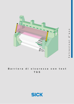 Barriera di sicurezza con test TGS