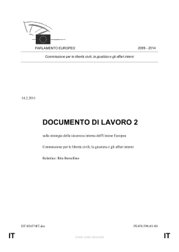 IT IT DOCUMENTO DI LAVORO 2