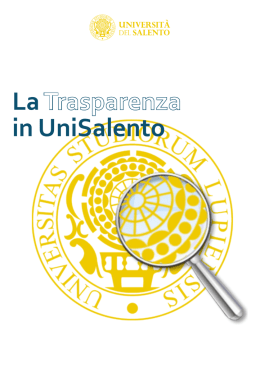 La in UniSalento - Università del Salento