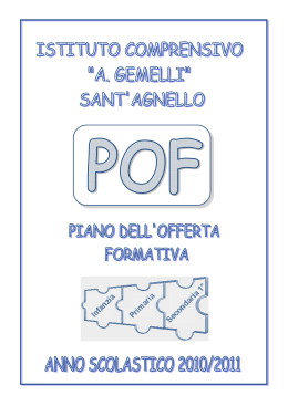 sant`agnello - Istitutogemelli.na.it
